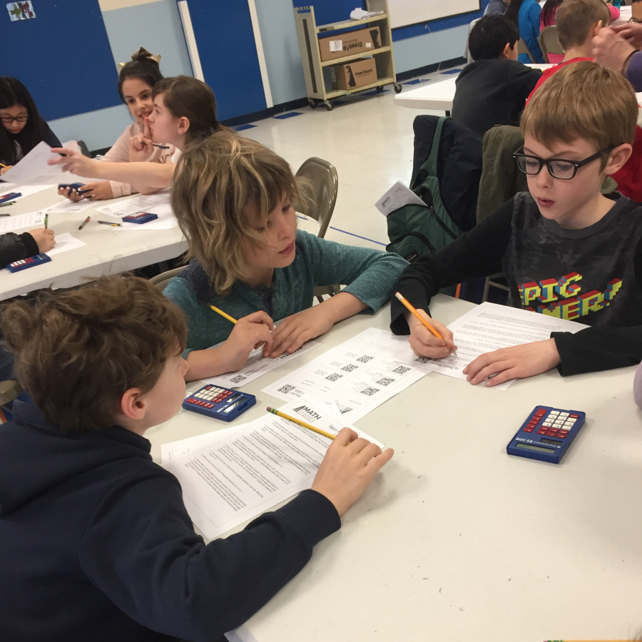 ps 130 students compete in a math league challenge