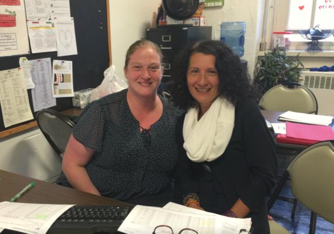 Guidance Counselors Mariasara and Erin