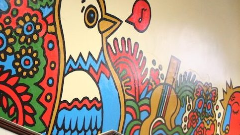 Lower School Mural Right